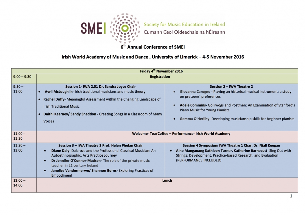 smei-2016-conference-programme